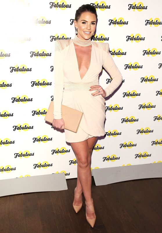 Danielle Lloyd – Fabulous Magazine 10th Birthday Party in London