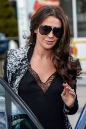 Danielle Lloyd Heading to Her Local Hairdressers in Birmingham 02/23/2018