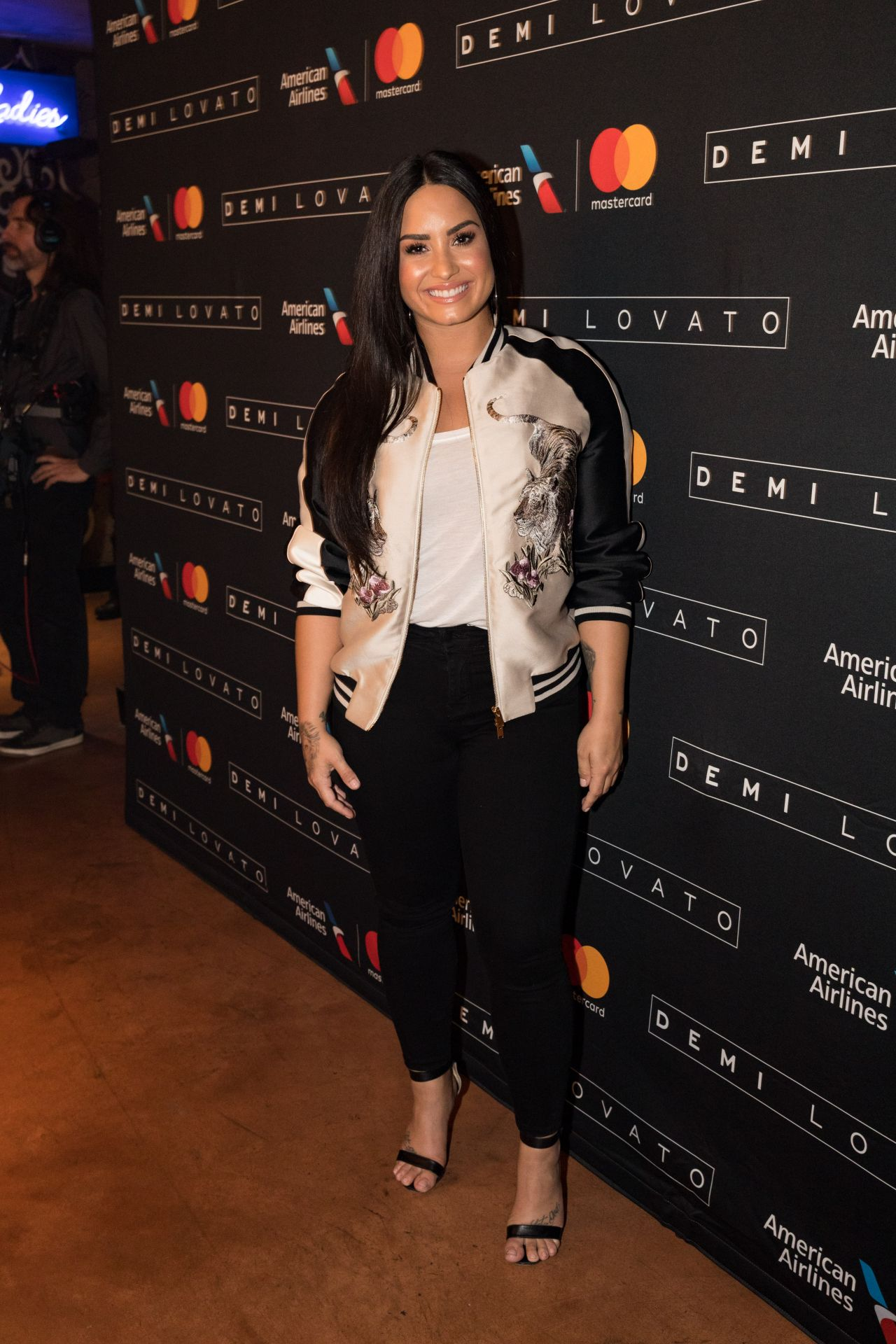 Demi Lovato Performs At House Of Blues In Dallas