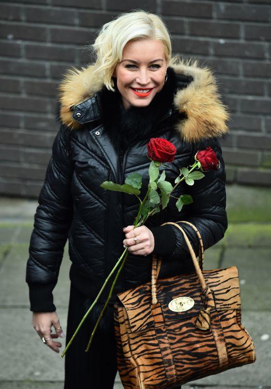Denise Van Outen - Outside The ITV Studios in London 02/14/2018