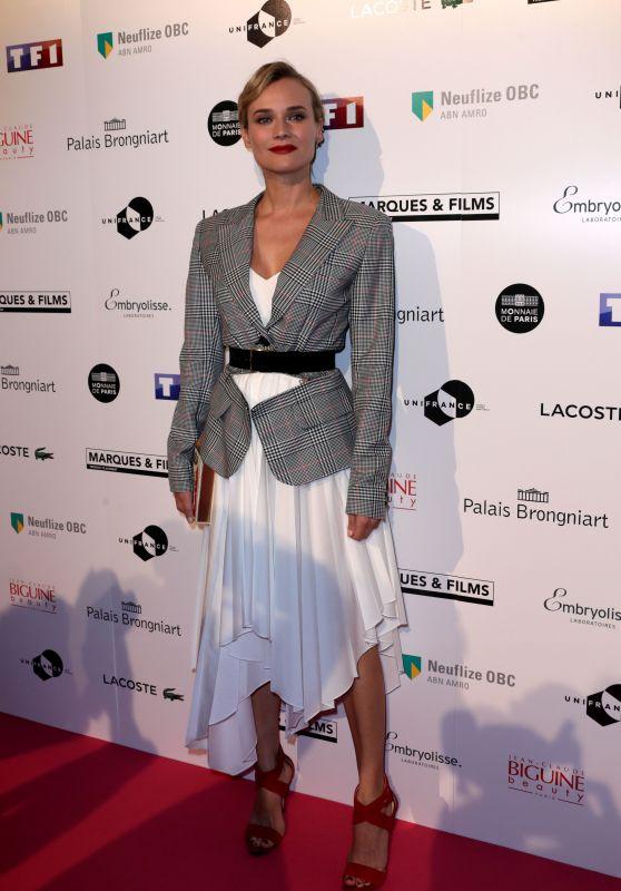 Diane Kruger - 25emes Trophees du Film in Paris