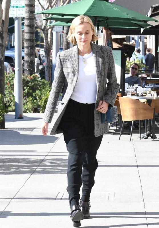 Diane Kruger - Lunch at La Scala Beverly Hills