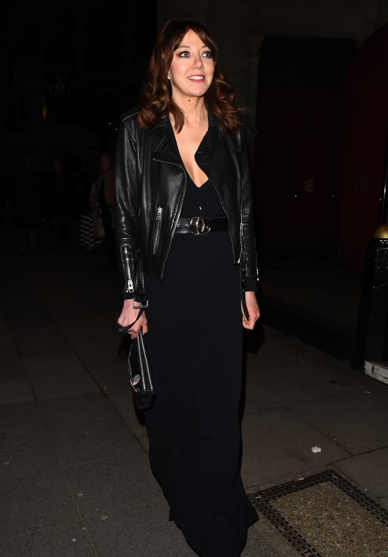 Diane Morgan Leaving the Broadcasting Awards in Mayfair