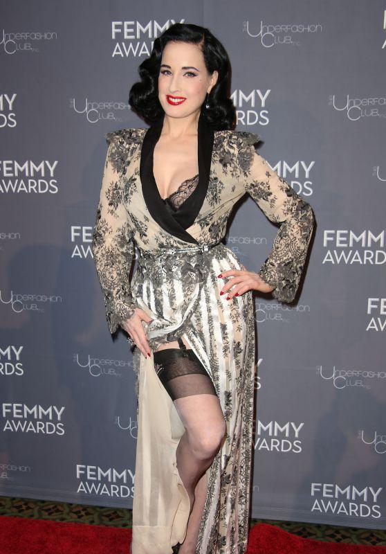 Dita von Teese -2018 Femmy Awards in NYC
