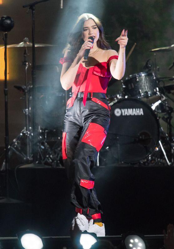 Dua Lipa - Performing on the Jimmy Kimmel Live