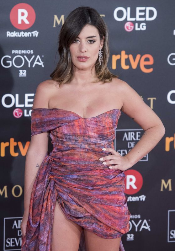 Dulceida – 2018 Goya Awards in Madrid