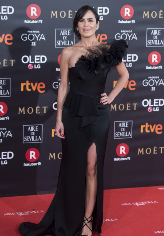 Elena Ballesteros – 2018 Goya Awards in Madrid