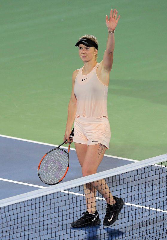 Elina Svitolina - WTA Dubai Championships in Dubai 02/21/2018
