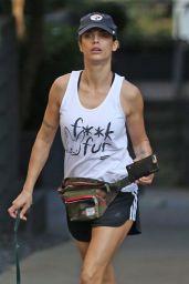Elisabetta Canalis - Hike at Runyon Canyon in Hollywood