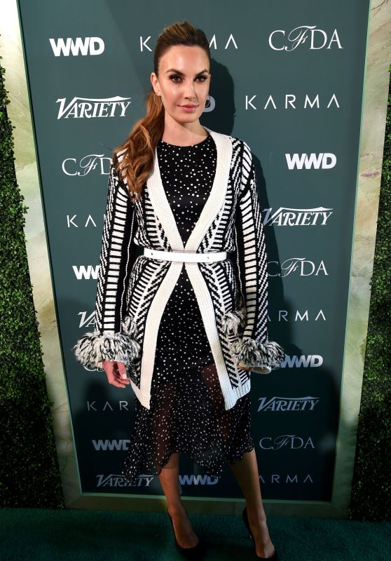Elizabeth Chambers – Variety, WWD and CFDA's Runway to Red Carpet Event in LA