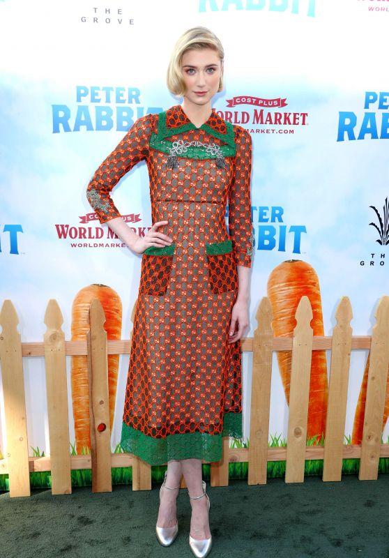 """Elizabeth Debecki – """"Peter Rabbit"""" Premiere in Los Angeles"""