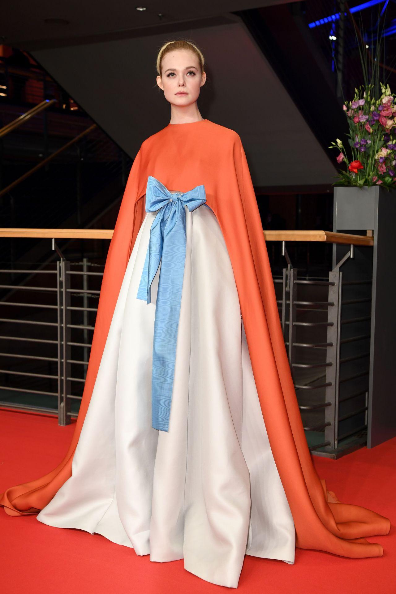 Elle Fanning 2018 Berlin International Film Festival