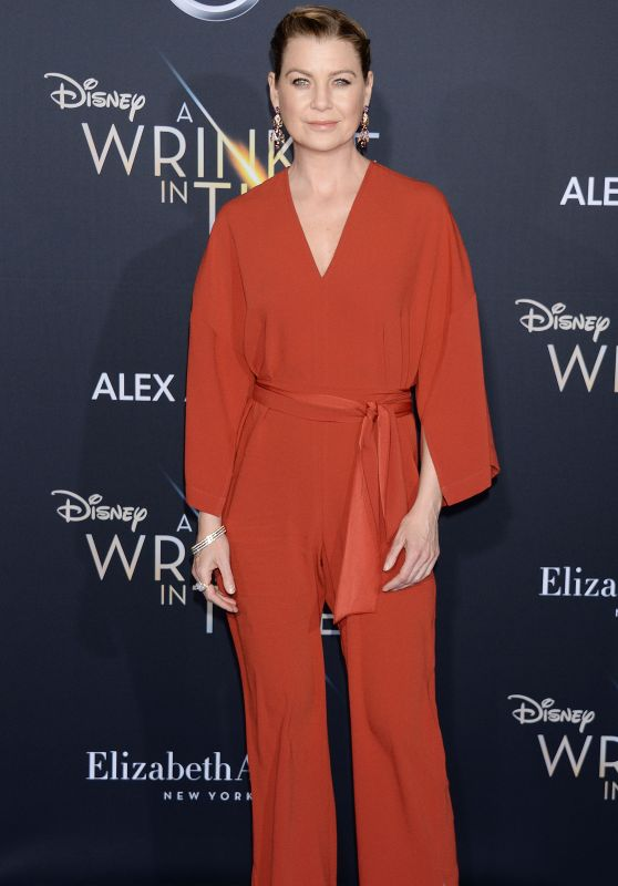"Ellen Pompeo – ""A Wrinkle in Time"" Premiere in Los Angeles"