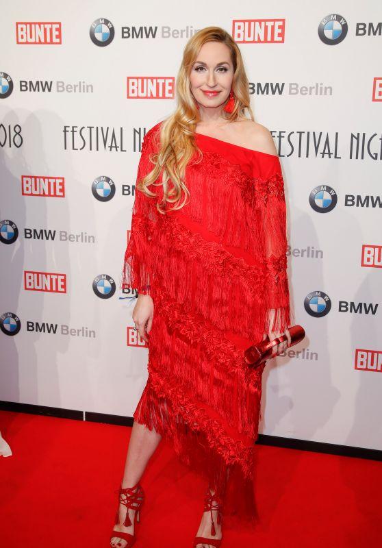 Elna-Margret Prinzessin zu Bentheim und Steinfurt – BUNTE & BMW Host Festival Night, Berlinale 2018