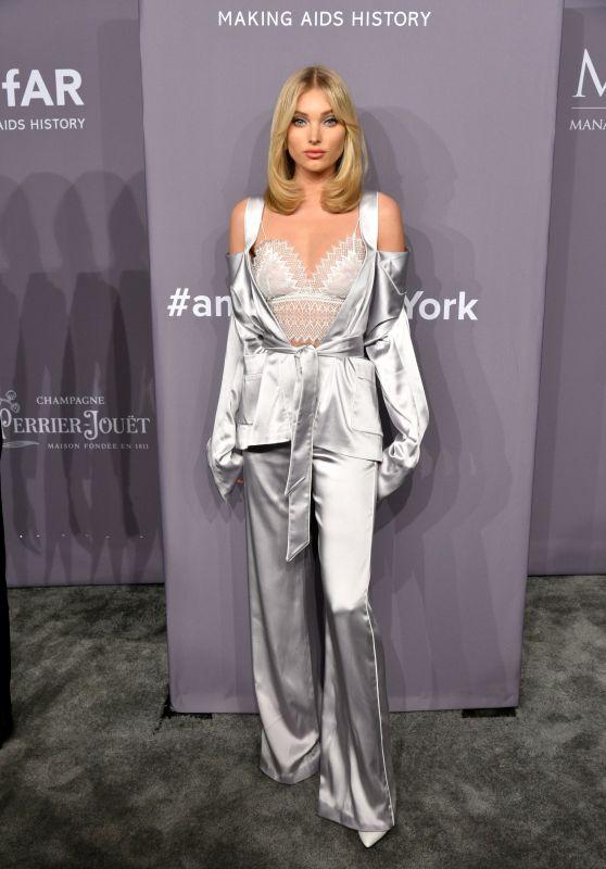 Elsa Hosk – 2018 amfAR Gala in NYC
