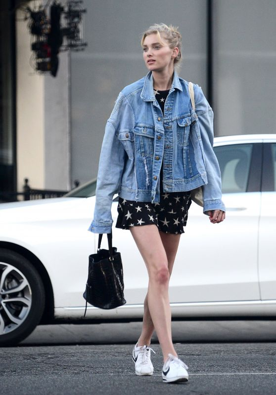 Elsa Hosk - Shopping in Los Angeles 02/05/2018
