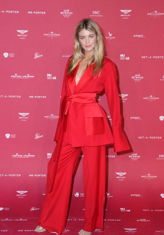 Elyse Taylor at Sydney's MAAS Ball 2018