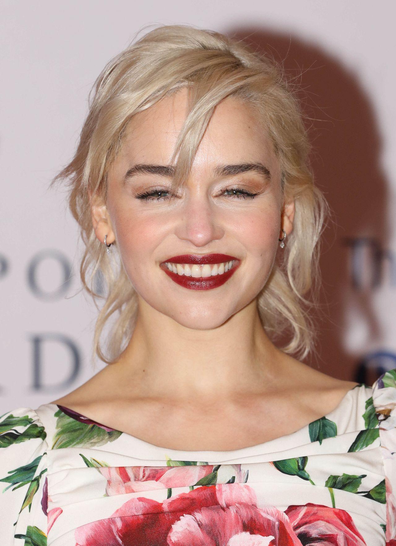 Emilia Clarke Centrepoint Awards In London on Kensington Palace London