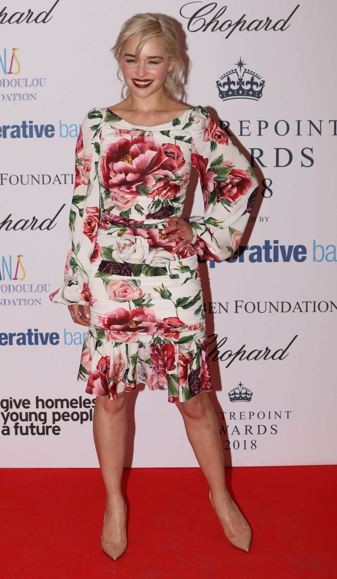 Emilia Clarke 2018 Centrepoint Awards In London