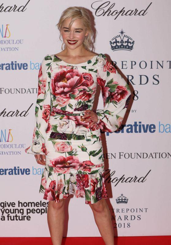 Emilia Clarke - 2018 Centrepoint Awards in London