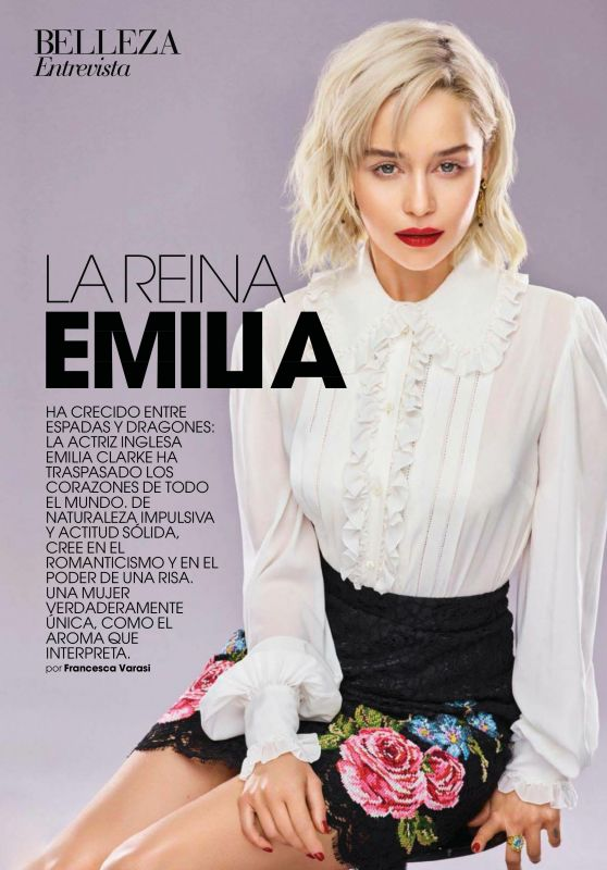 Emilia Clarke - Marie Claire Spain February 2018