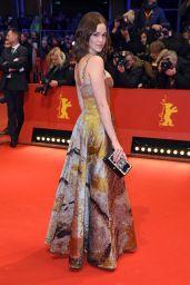 Emilia Schüle – 2018 Berlin International Film Festival Opening Ceremony