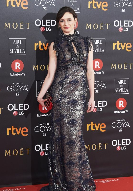 Emily Mortimer – 2018 Goya Awards in Madrid