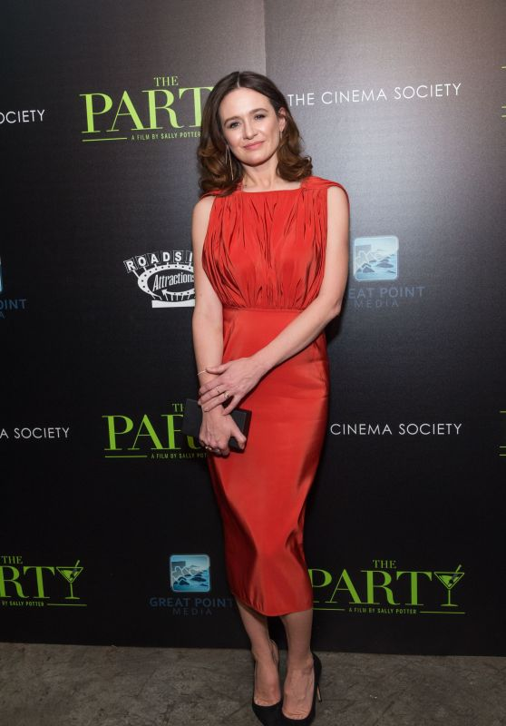 "Emily Mortimer - ""The Party"" Screening in New York"