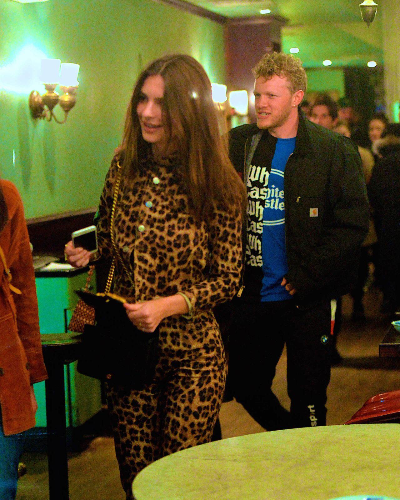 Emily Ratajkowski And Sebastian Bear Mcclard At Cafe China