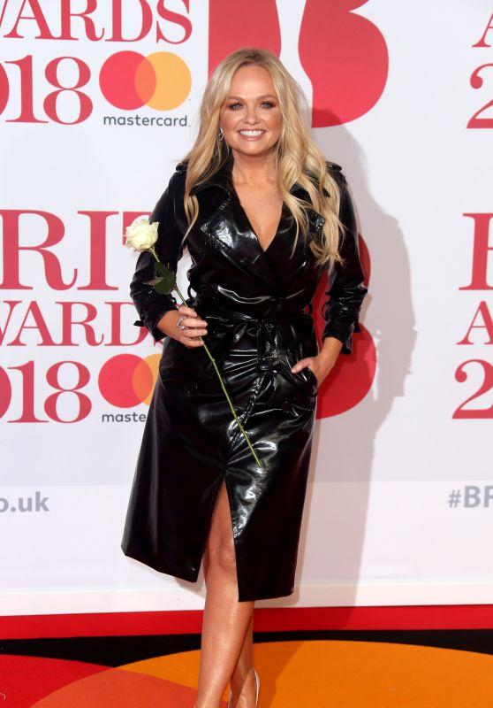 Emma Bunton – 2018 Brit Awards in London