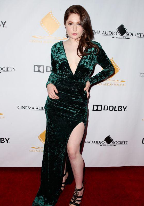 Emma Kenney – The Cinema Audio Society Awards 2018 in LA