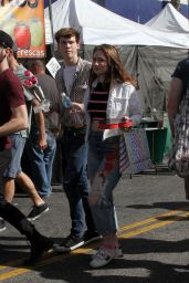 Emma Kenney With Her Boyfriend at the Farmer