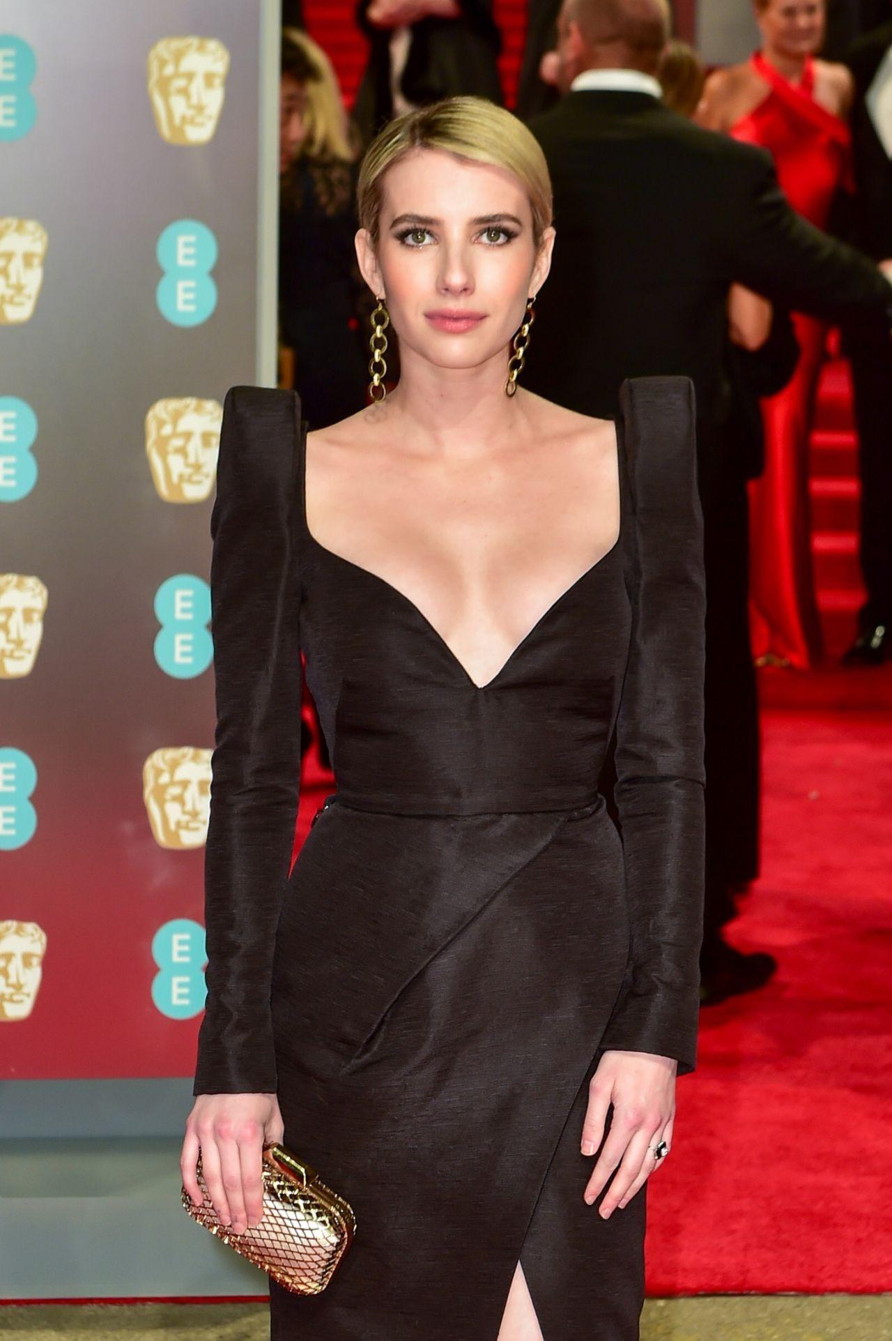 Emma Roberts 2018 British Academy Film Awards