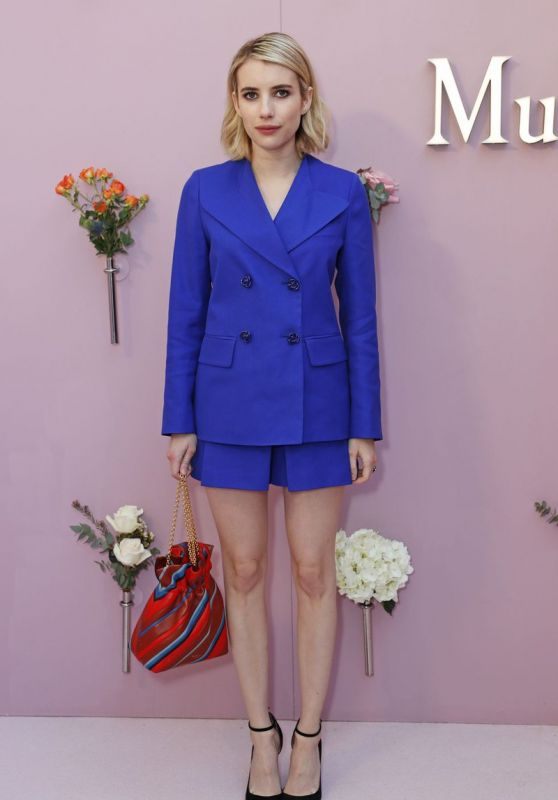 "Emma Roberts - Mulberry ""Beyond Heritage"" SS18 Presentation in London"
