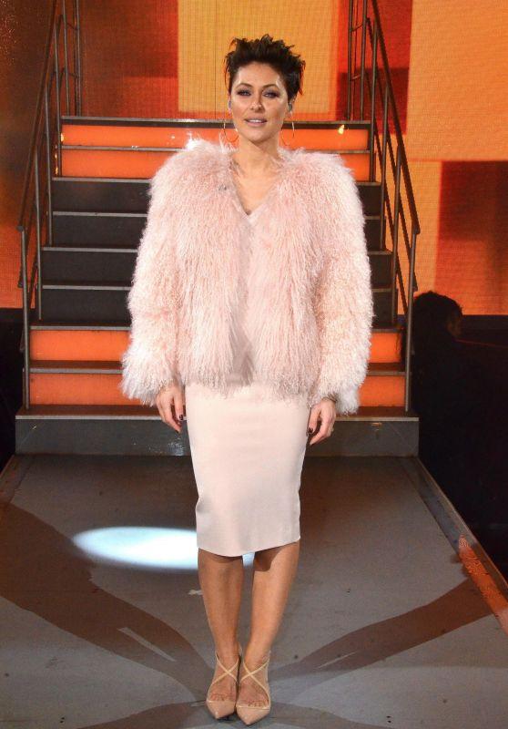 Emma Willis – Celebrity Big Brother Final in Borehamwood 02/02/2018