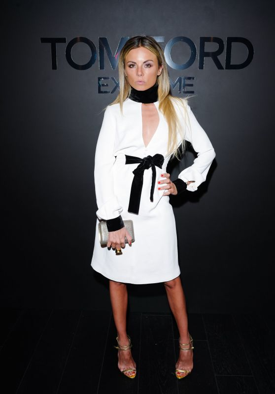 Erica Pelosini - Tom Ford: EXTREME Cocktail Party Fall Winter 2018 at NYFW