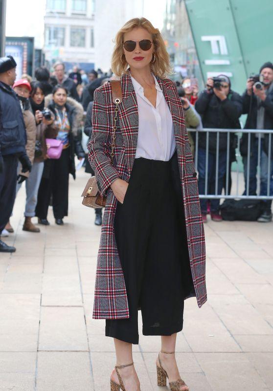 Eva Herzigova - Arrives for the Michael Kors Show in NYC
