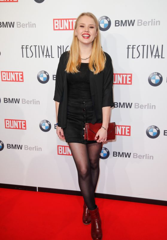 Eva Nürnberg – BUNTE & BMW Host Festival Night, Berlinale 2018
