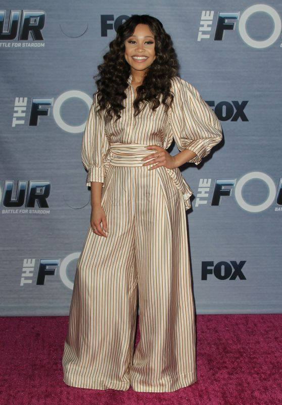 "Evvie McKinney - ""The FOUR: Battle For Stardom""  Viewing Party"
