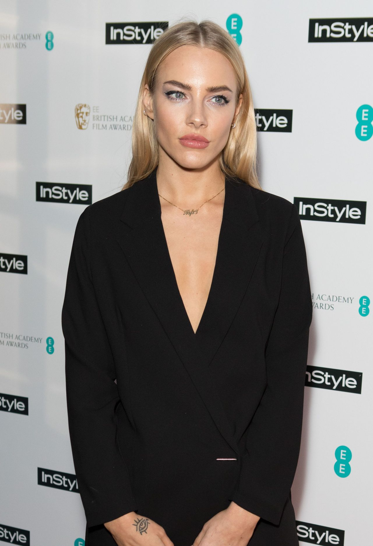 Fae Williams 2018 Baftas Pre Party In London
