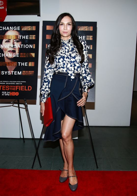 "Famke Janssen – ""Notes From The Field"" Special Screening in NY"