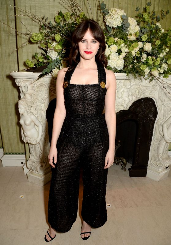 Felicity Jones - Vogue and Tiffany & Co Party in London