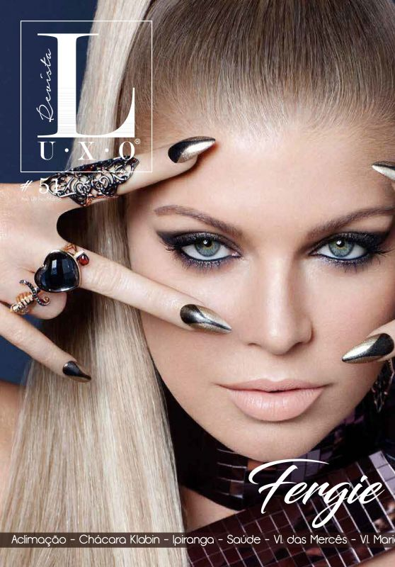 Fergie - Revista Luxo February 2018