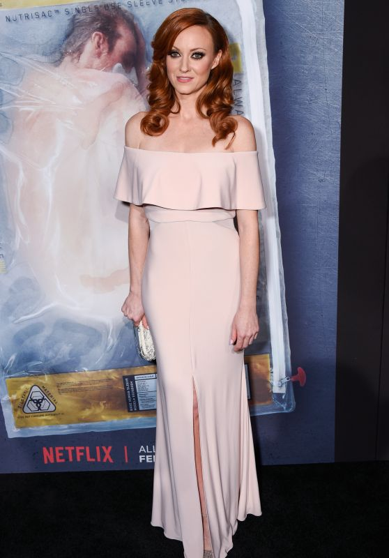 """Fiona Vroom - """"Altered Carbon"""" Premiere in Los Angeles"""