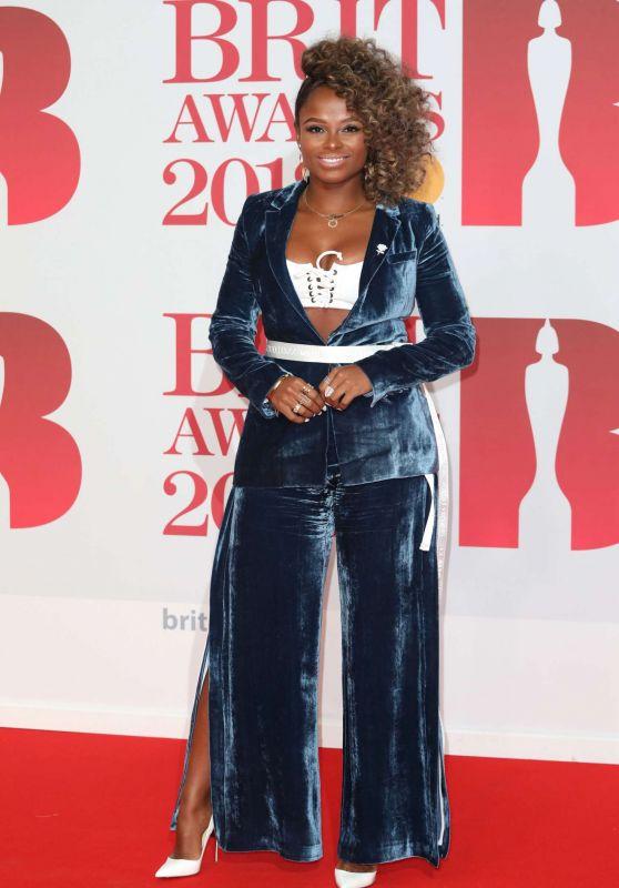 Fleur East – 2018 Brit Awards in London