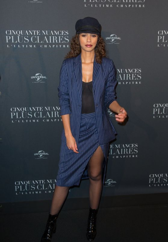 """Flora Coquerel – """"Fifty Shades Freed"""" Premiere in Paris"""