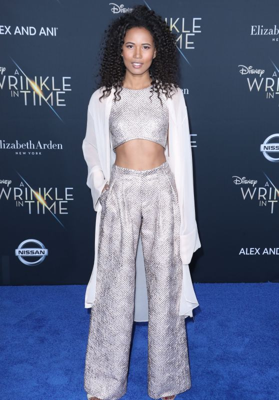 "Fola Evans-Akingbola – ""A Wrinkle in Time"" Premiere in Los Angeles"
