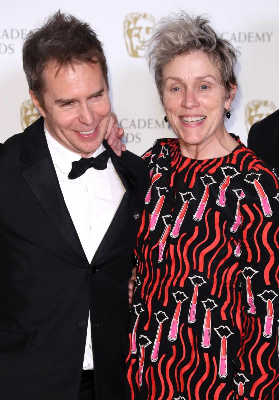 Frances McDormand – 2018 British Academy Film Awards