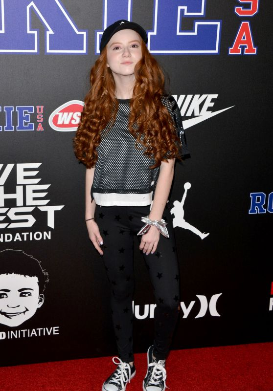 Francesca Capaldi – Rookie USA Show in Los Angeles