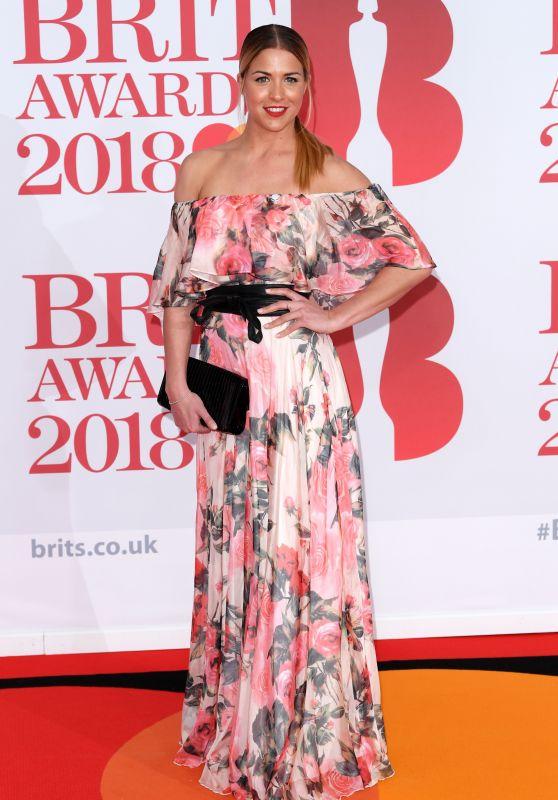 Gemma Atkinson – 2018 Brit Awards in London